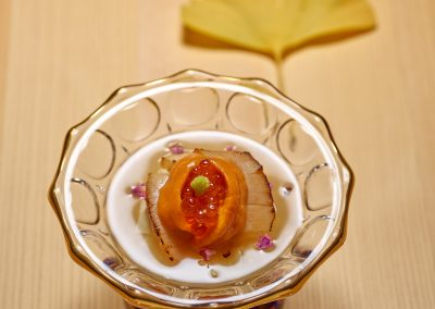 Scallop, Bean Curd Sheet